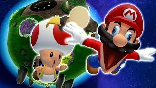 Mario goes on a magical adventure through space, visiting many new ...