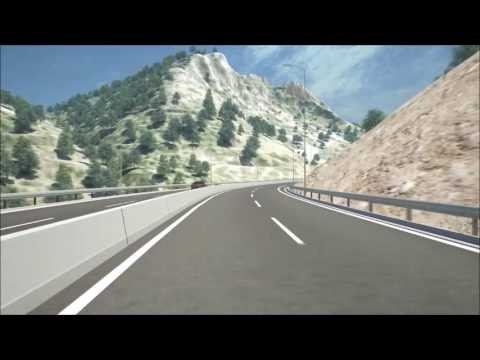Crete New Int. Airport access highway