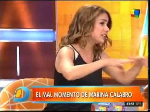 La angustia que vivió Marina Calabró al regresar de sus vacaciones