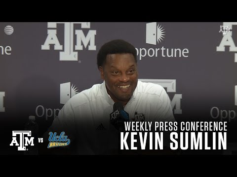 UCLA Weekly Football Press Conference | Kevin Sumlin 8.29.17