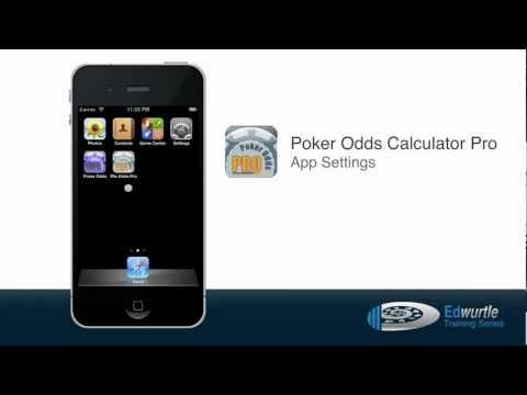 App Settings - Poker Odds Calculator Pro - YouTube