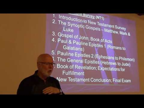 New Testament Survey - Introduction