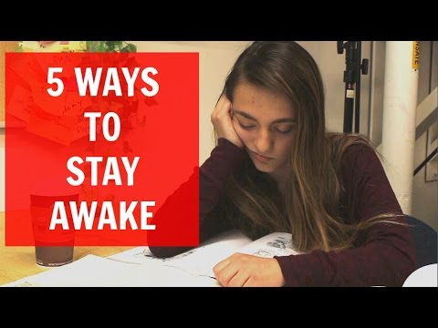 5 Ways to Stay Awake - YouTube