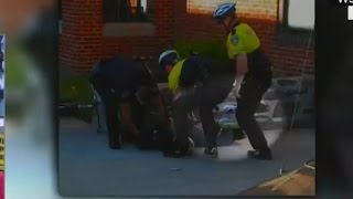 Video shows important moment during Freddie Gray arrest
