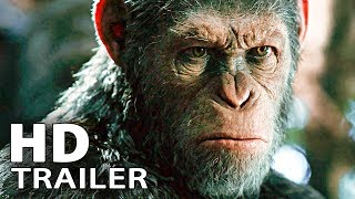 WAR FOR THE PLANET OF THE APES - Trailer 2 (2017)