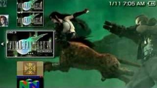 Final Fantasy VII - PSP Disc 3 EBoot