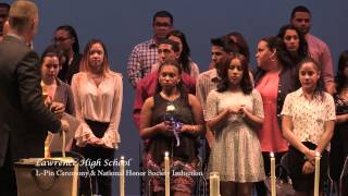 Lawrence High School L-Pin & National Honor Society 2015
