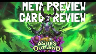 Ashes of Outland Hearthstone Arena Guide: Meta Preview (Part 1)