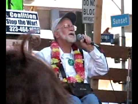 Ron Kovic Sings For Peace