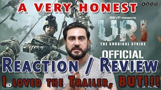 Pakistani Reaction on URI Official Trailer | Vicky Kaushal, Yami Gautam
