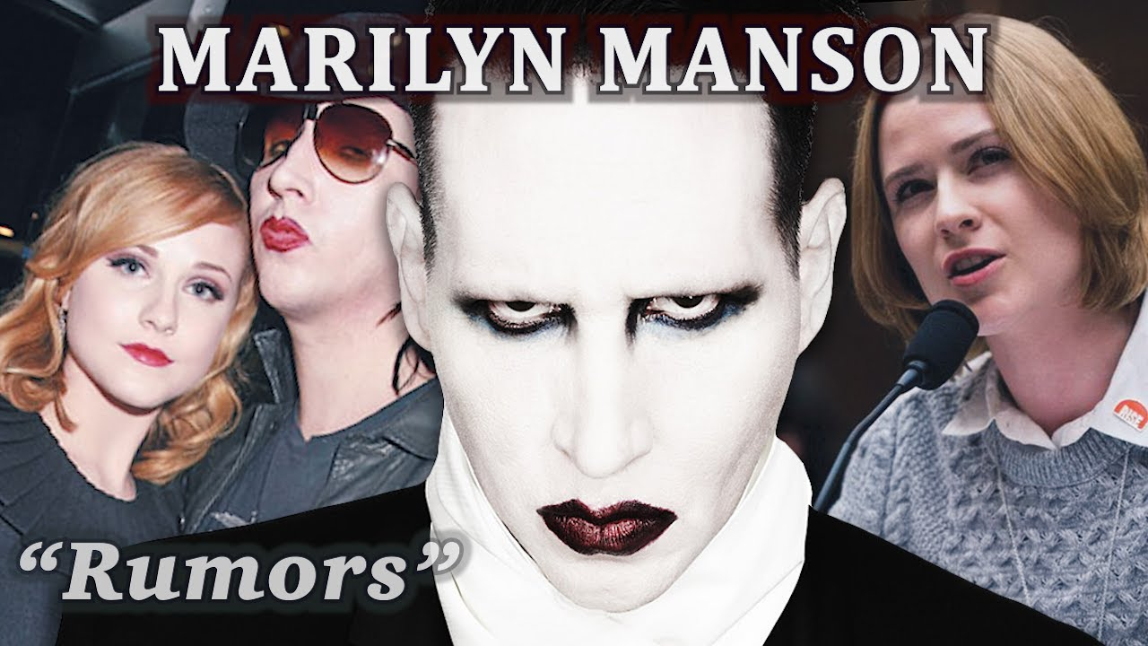 Marilyn Manson's Response To Evan Rachel Wood