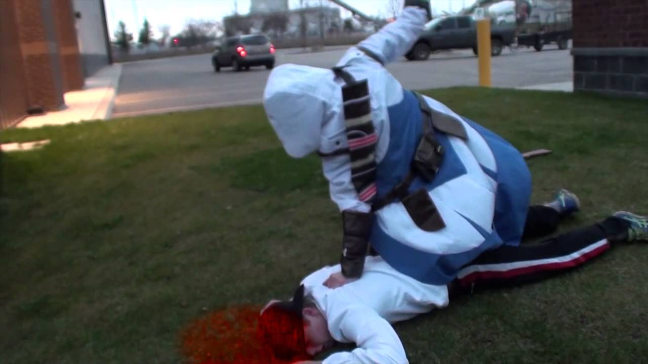 Air Assassination Real Life Assassins Creed 3 - YouTube