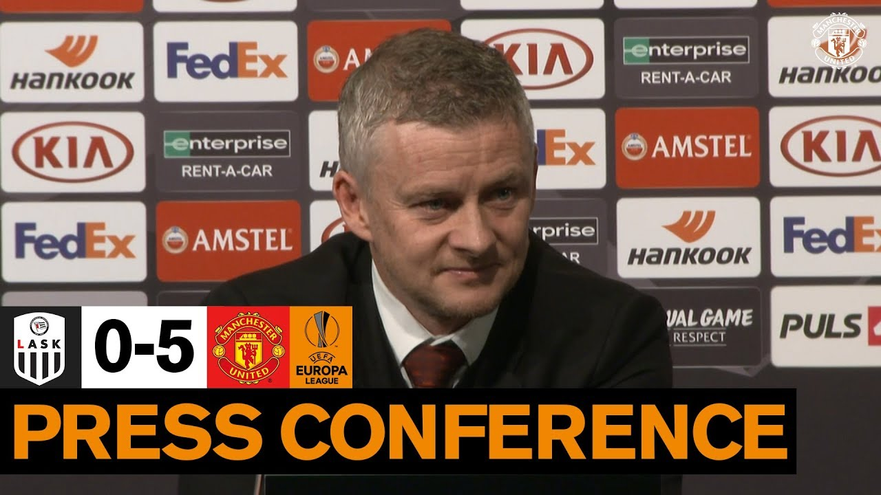 Post Match Press Conference | LASK 0-5 Manchester United | UEFA Europa League