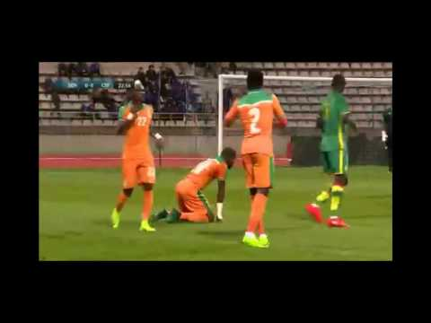 Football Full Match Ivory Coast vs Senegal -  International Friendly Match Part 1