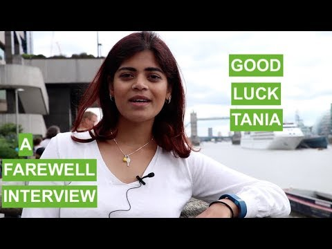 Tania ep. 20 - Goodbye and Good Luck | The Great Grad Job Hunt
