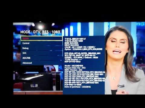 TV Sansung - Sintonizar Canal Bloqueado