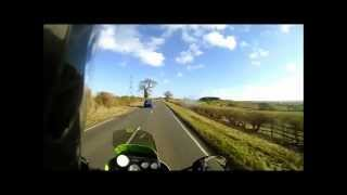 This Video Previously Contained A Copyrighted Audio Track. Due To A Claim By A Copyright Holder, The Audio Track Has Been Muted.     Back On The Bike Pt2: High Speed Filtering, Flooded Roads, Biker Nods & Vegetarian Haggis!?