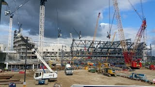 NEW STADIUM UPDATE: Tottenham's New Stadium Sites, Talking to Fans & Builders - 16 September 2017
