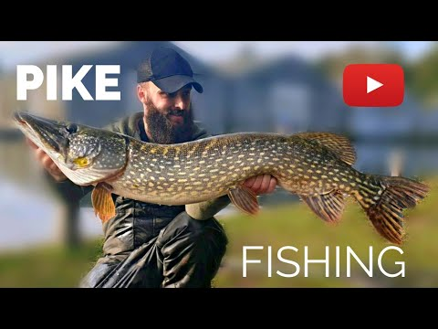 Pike Fishing - The Last Minute Run That Saved A Blank! (River Pike, Norfolk)