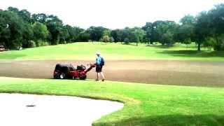 Letriomphe Golf And Country Club - Aeration Of Greens