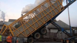 sugarcane unloading from truck 2013