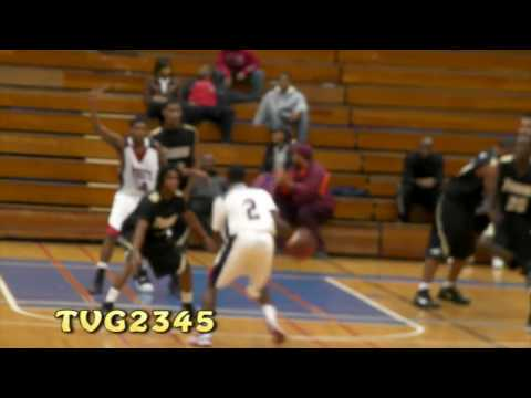 Allen Simon Had Defenders On Skates @ 3rd Annual Ronald Curry Classic