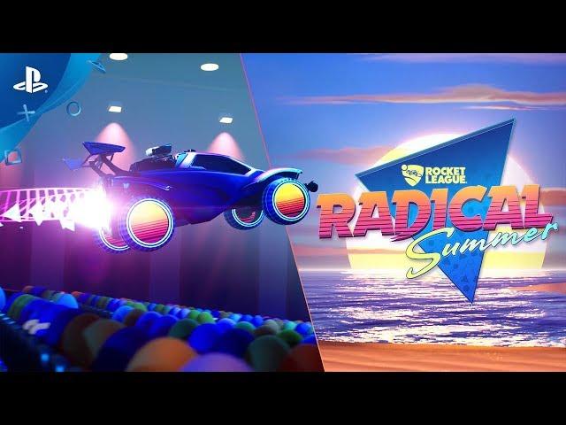 Rocket League   Radical Summer   PS4