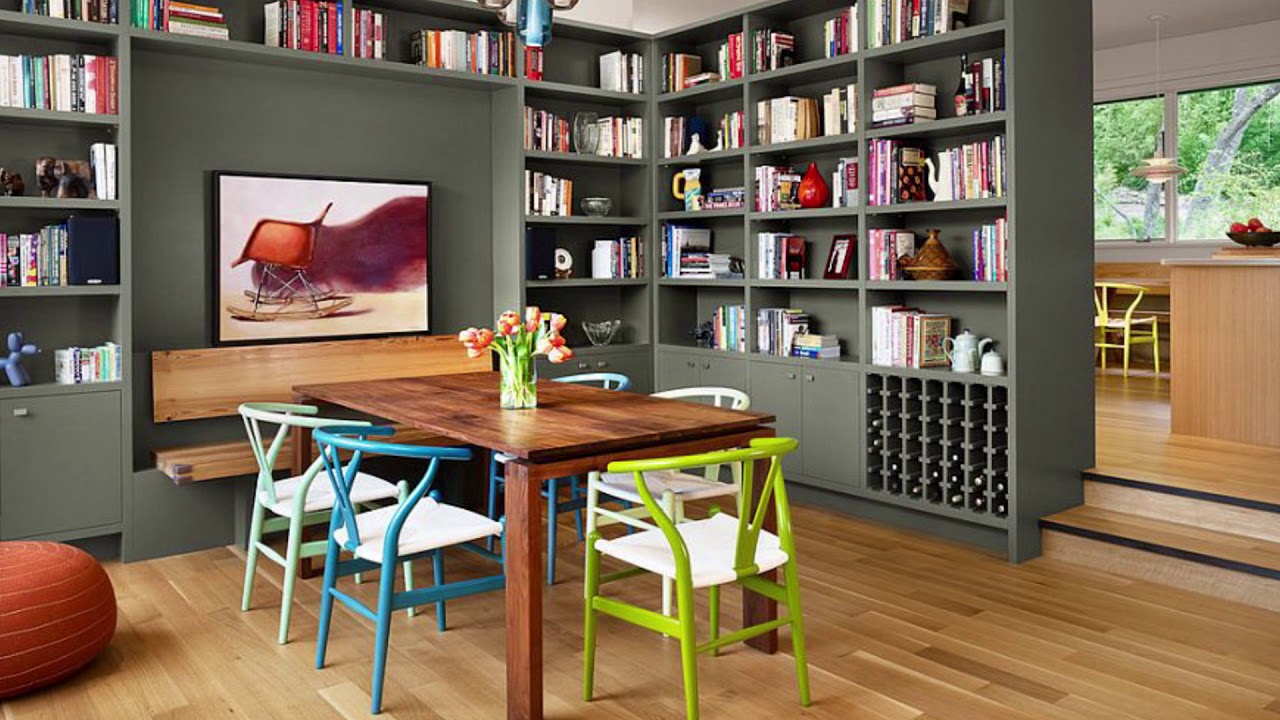 Awesome Dining Room And Home Library Combos That Rock Youtube