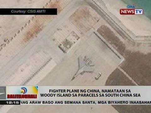 BT: Fighter plane ng China, namataan sa Woody Island sa paracels sa South China Sea