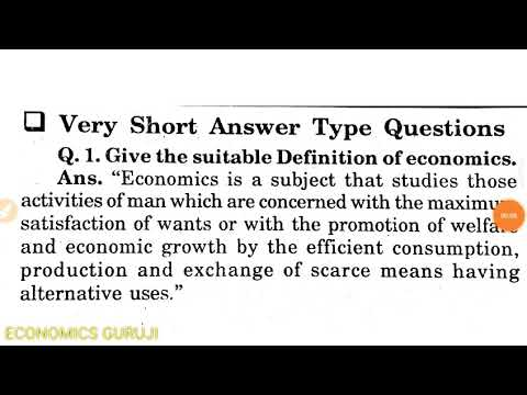 Chapter -1 introduction, important questions related to introduction of  economics and microeconomics