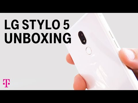 NEW LG Stylo 5 Unboxing & Review with Des | T-Mobile