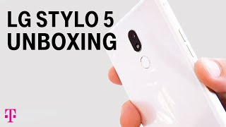 NEW LG Stylo 5 Unboxing & Review with Des   T-Mobile