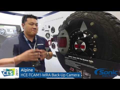 Alpine HCE-TCAM1-WRA Jeep Wrangler Vehicle Specific Back-Up Camera | CES 2017