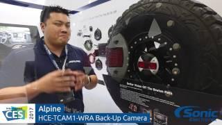 Alpine HCE-TCAM1-WRA Jeep Wrangler Vehicle Specific Back-Up Camera   CES 2017