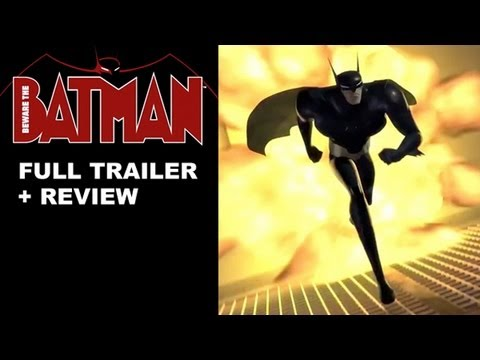 Beware The Batman Trailer + Trailer Review : DC Nation Phase Two on Cartoon Network 2013!