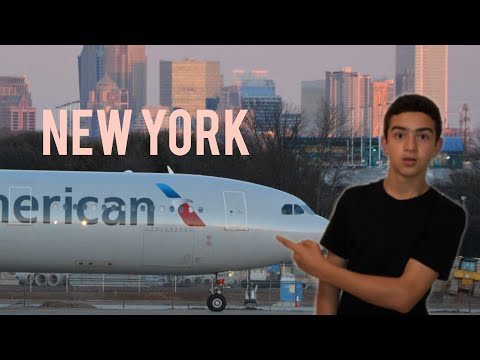 New York ga uchin kettim. Aero port da vlog.