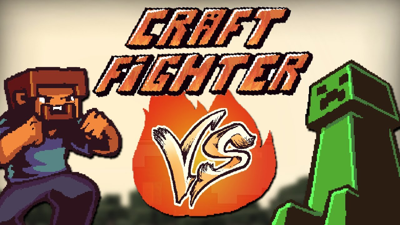 steve vs creeper  - craft fighter