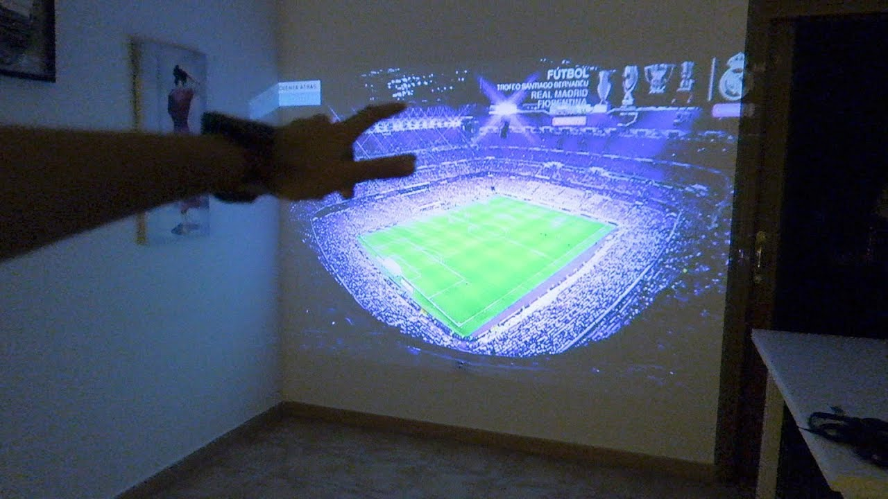 Nos montamos un cine en casa proyector tenker 50 - Proyector cine en casa ...