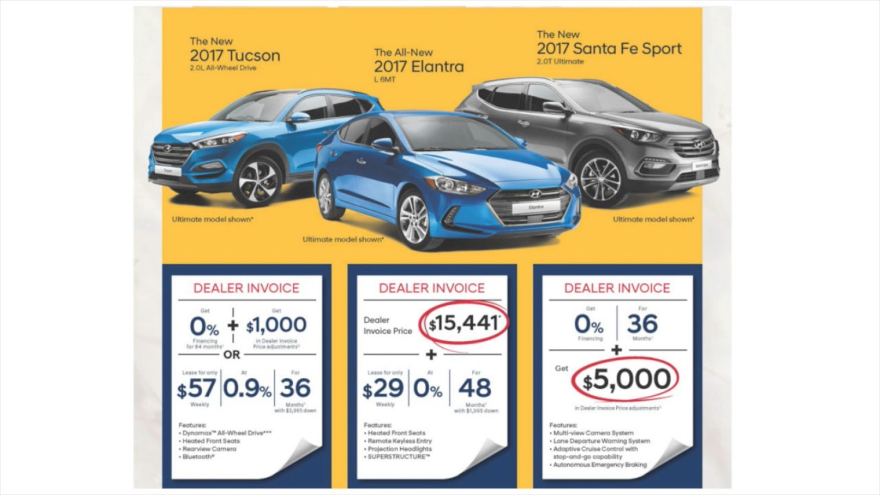 Maple Hyundai Dealer Invoice Pricing Ending