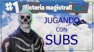 ♦️ PLAYING WITH SUBS- CODE CREATOR : NZX-LAUTA-FORTNITE ARGENTINA