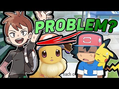Are Rivals Like Trace A Problem? Pokemon Let's Go Pikachu And Eevee!