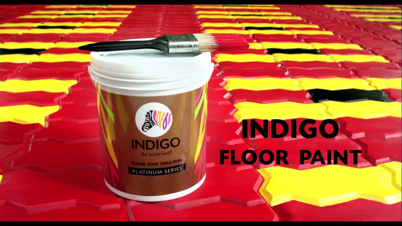 Indigo Floor Coat Paint Jealous Neighbours Hindi Youtube