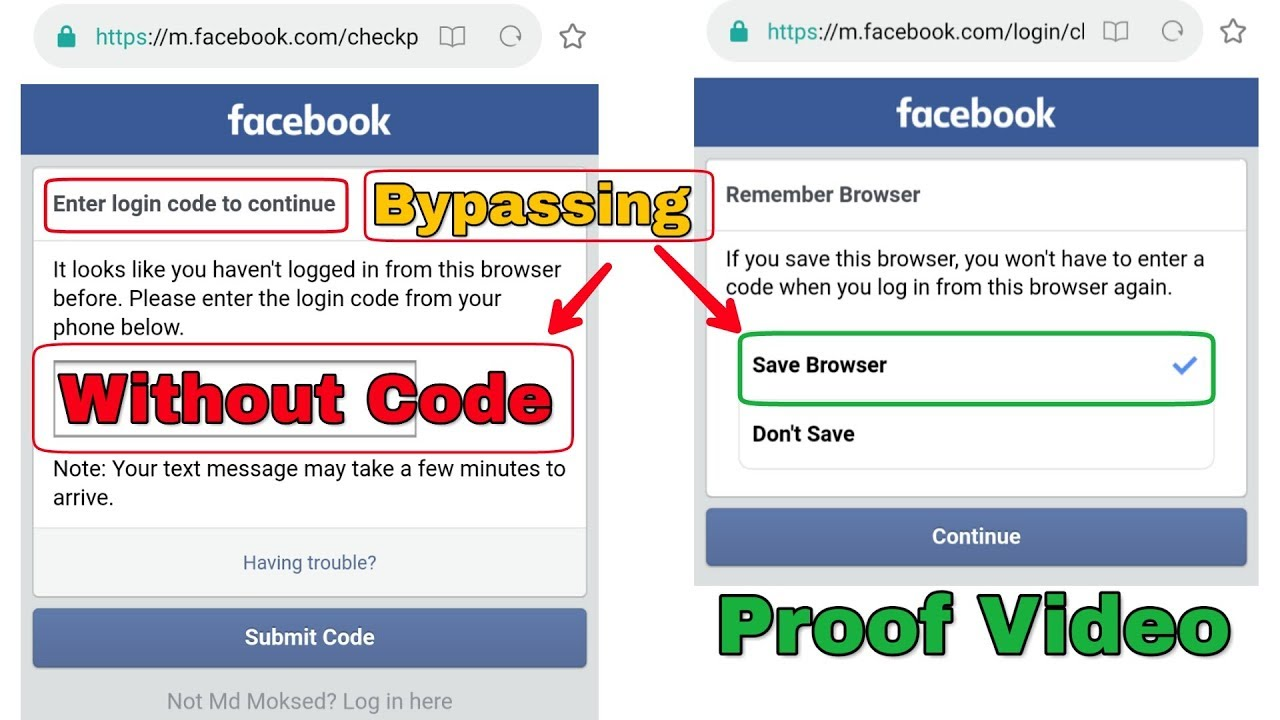 Facebook Two Factor Authentication Bypass Without Code | New technique used  | Login Approvals 2019
