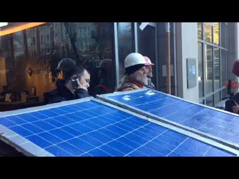 Puget Sound Energy security officer calls cops on water warriors-4/2/2018