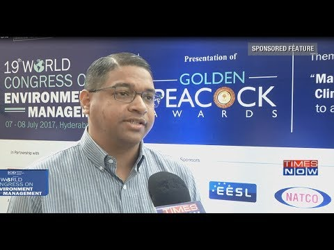 Times Now Special Broadcast –19th World Congress on Environment Management 2017
