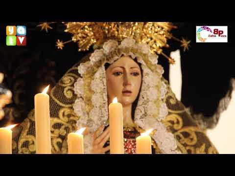 Salida de María Santísima de la Soledad Semana Santa Algeciras 2019 Viernes Santo