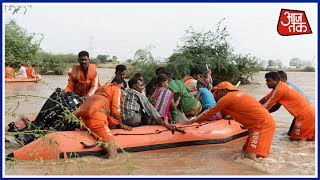 PM Modi To Conduct Aerial Survey In Flood-Hit Gujarat