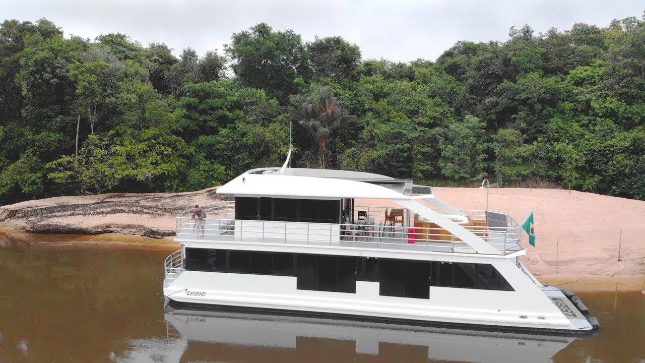 A bordo do LEGEND - Operação de pesca na Amazônia