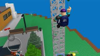 ROBLOX Natural Disasters Survival Funny Moments w/ BomerNoob!