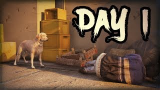 gTA 5 - ZOMBIES- DAY 1 - Episode 1 (Watch Till The End)